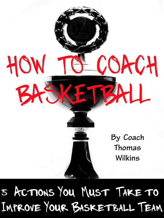Here is the cover to the How to Coach Basketball ebook.