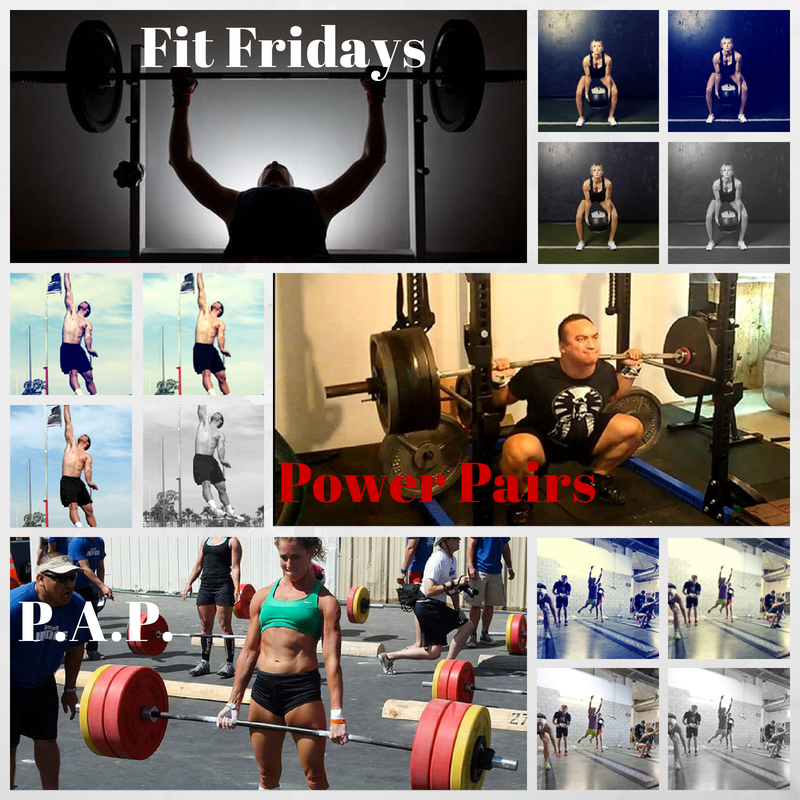Fit Fridays: Power Pairs & PAP